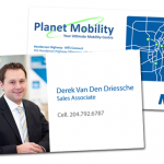 Planet Mobility Business Cards