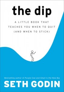 """The Dip"" by Seth Godin"